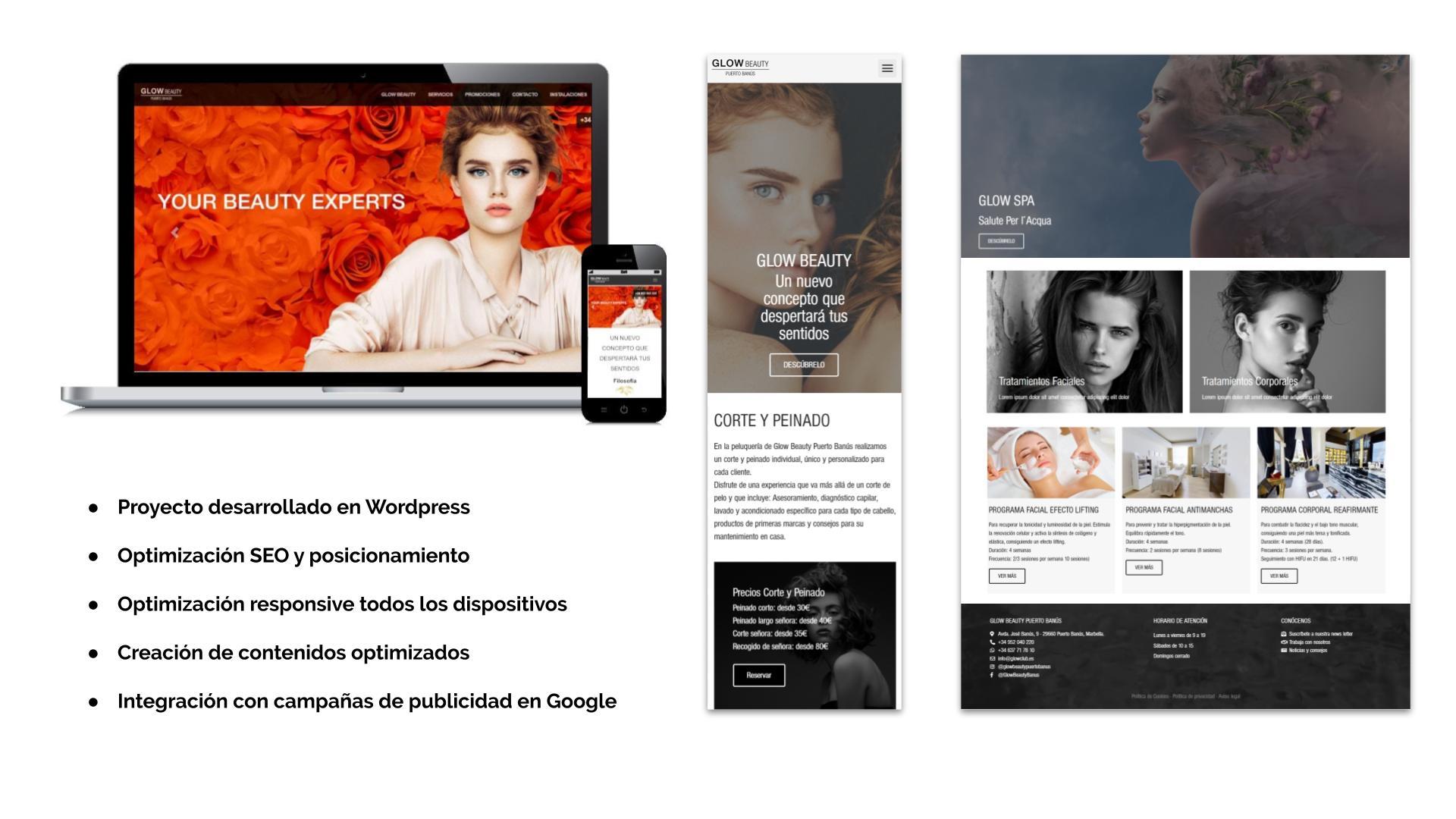 Desarrollo Web Páginas Corporativas